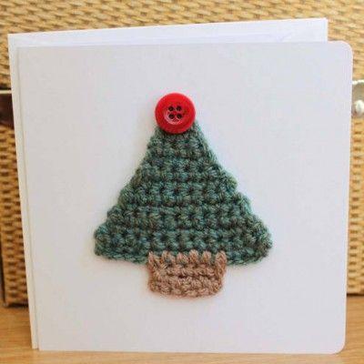 árbol de Navidad en crochet