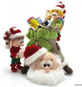 Los amigurumis más locos para Navidad