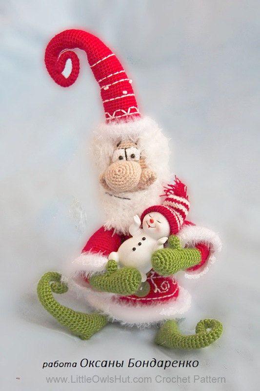 amigurumis locos navidad-otakulandia.es