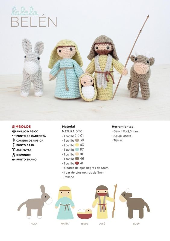 belen crochet-patron castellano