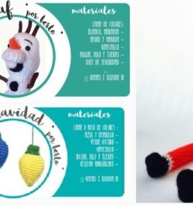 Papá Noel, 1 Olaf y muchas lucecitas de colores