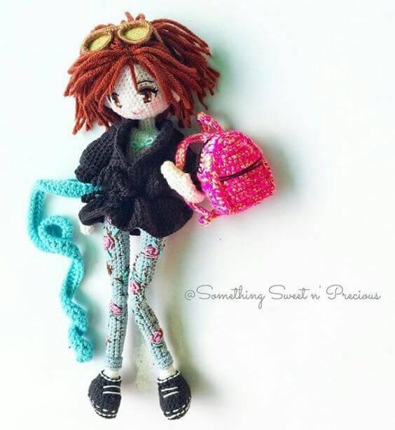 ¿Cómo hacer una muñequita articulada en crochet