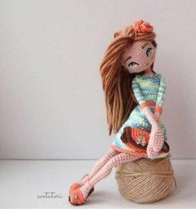 ¿Cómo hacer una muñequita articulada en crochet?