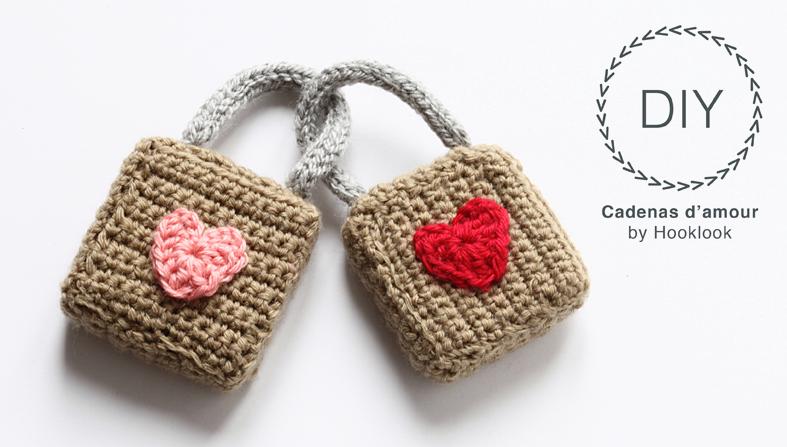 candados de amor en crochet