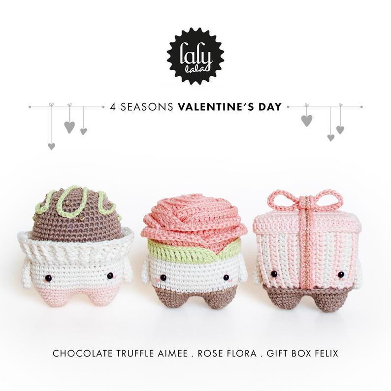 regalos san valentín crochet