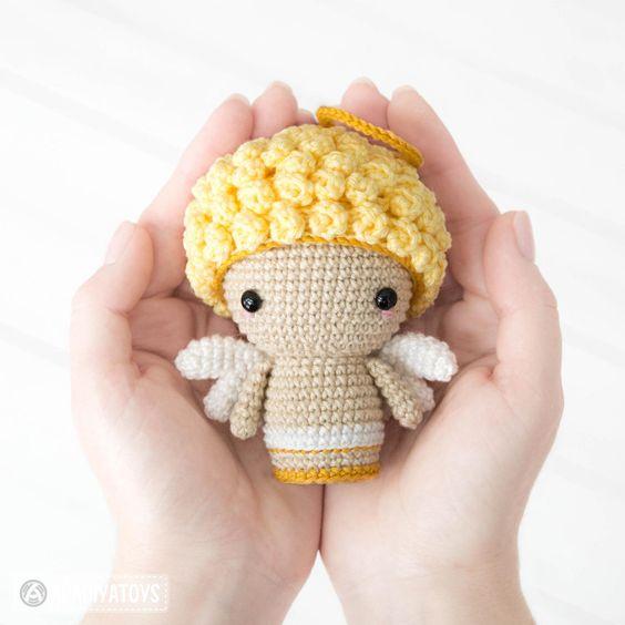 Cupido para san valentín en crochet