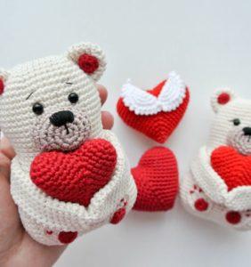 26 ideas para tu San Valentín en crochet