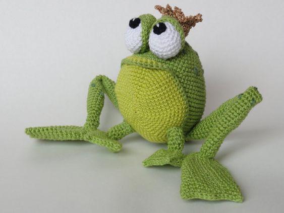 Príncipe rana crochet