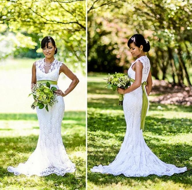 Chi, espectacular en el día de su boda