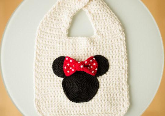 babero crochet