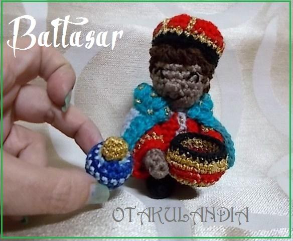 Baltasar, rey mago crochet