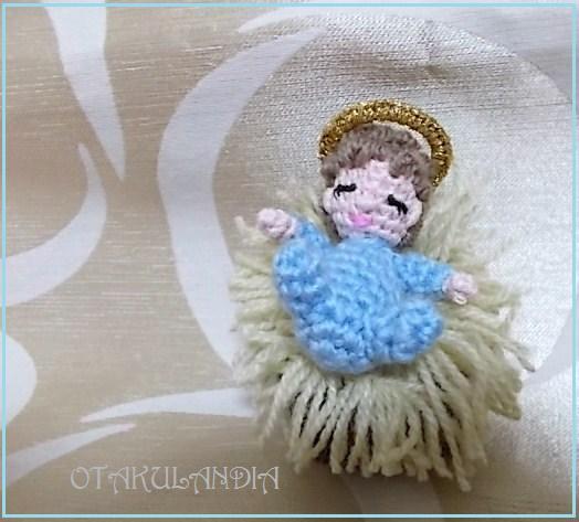 Niño Jesús en crochet