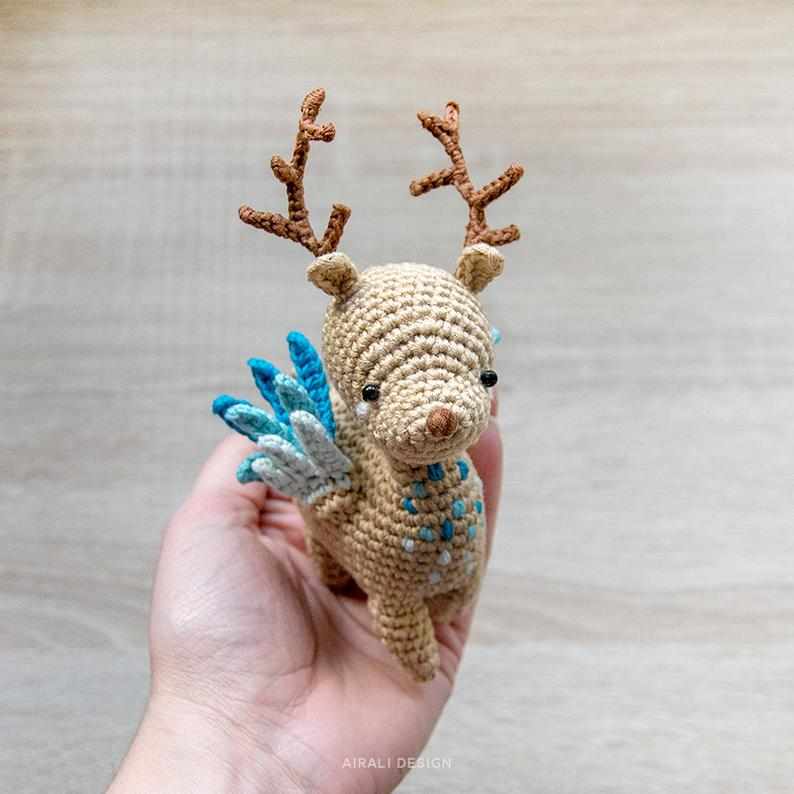 Reno mágico crochet