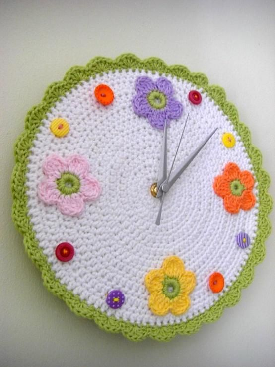 reloj de crochet
