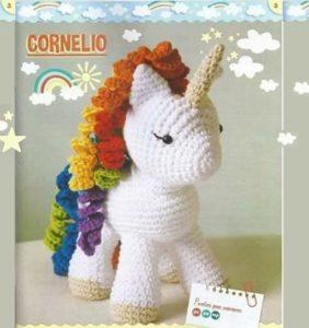 Un unicornio llamado Cornelio – patrón castellano