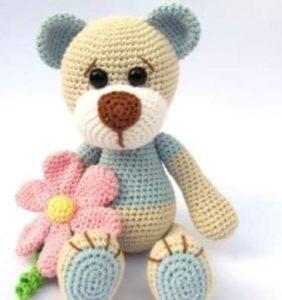 Osito Teddy de Primavera – Patrón en castellano