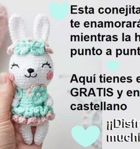 ¡ La conejita más coqueta de internet ! – Patrón en castellano