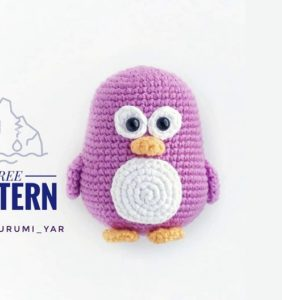 Baby Pingüinito – patrón en castellano