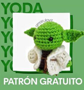 Maestro Yoda – patrón en castellano