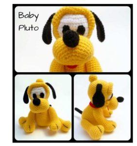 Pluto bebé (Disney) – patrón en castellano