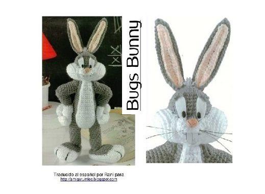 Amigurumi Bugs Bunny, part 1. Bugs Bunny, p.1. Amigurumi. Crochet ... | 380x519