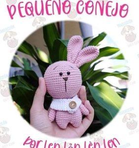 Un conejito tan lindo como chiquitín – patrón en castellano