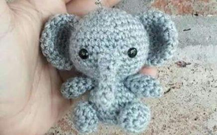 Elefantito - patrón de Amigurumis Flor en castellano