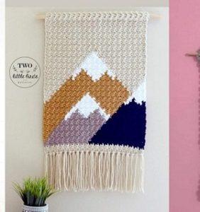Banderines y murales en crochet ¡perfectos para decorar!
