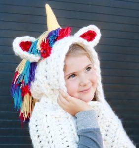 Bufandas de unicornios y otros animalitos divertidos