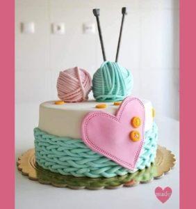 Para tejedoras y costureras un detalle de dulce