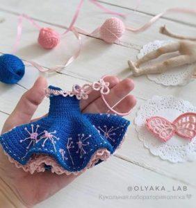 Vestiditos para tus muñecas en crochet