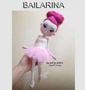 Bailarina patrón completo en castellano