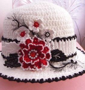 Sombrero ideal para lucir en Primavera ¡con esquemas!