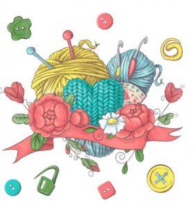 Ideas para tu Logo de crochet y 2 agujas