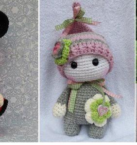 Patrón base para hacer mil muñequitos en crochet