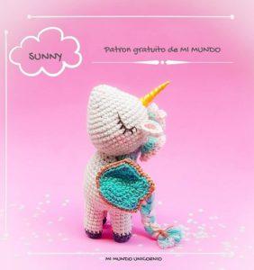 Patrón Sunny de Mi Mundo Unicornio para las Mamás más queridas