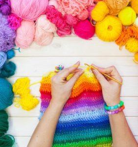 Guía de Puntos de crochet – Puntos básicos y tips
