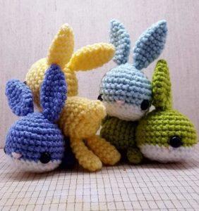 Conejitos Chof patrón de Maya Does Crochet