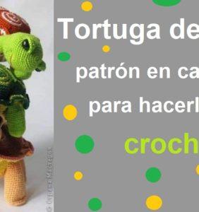 Tortugas de tierra – patrón en castellano