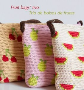 Trío de bolsos frutales y veraniegos – gráficos