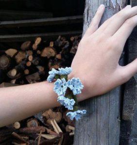 Pulseras de primavera y verano en crochet ¡ super cuquis !