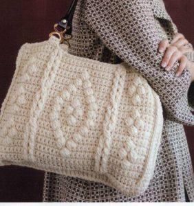 10 Bolsos con gran capacidad – patrones crochet