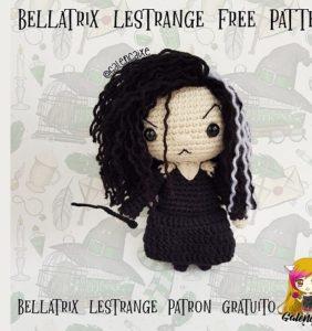 Bellatrix Lestrange patrones en castellano-inglés cortesía de Galencaixe